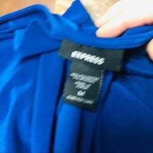 Express Tops - Express cowl draped boat neck ruffle sleeve blouse